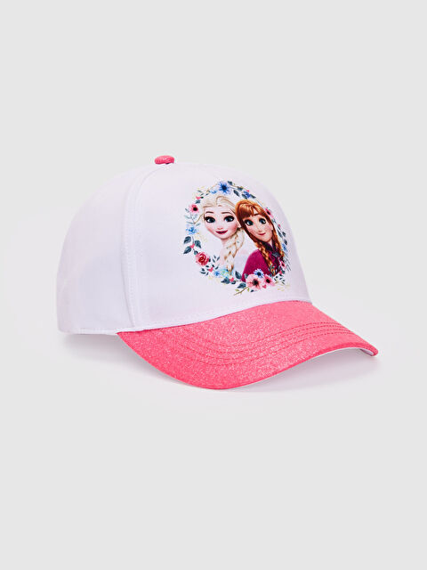 Kız Çocuk Frozen Lisanslı Şapka - LC WAIKIKI