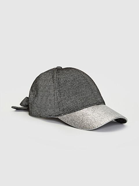 Kız Çocuk Parlak Görünümlü Şapka - LC WAIKIKI