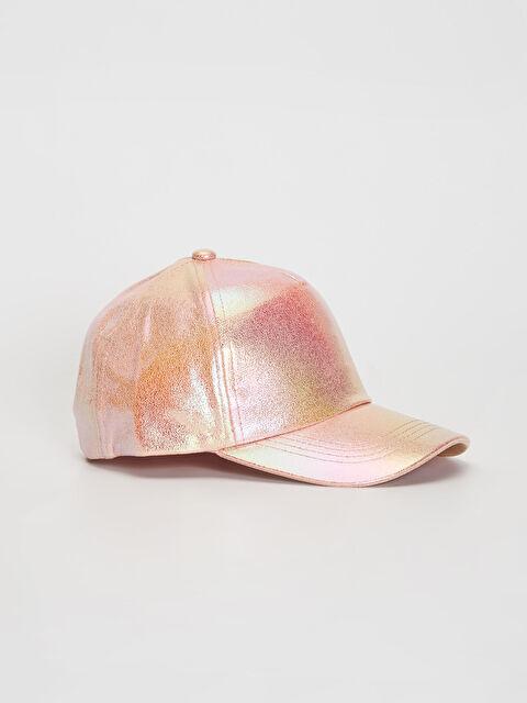 Kız Çocuk Hologram Şapka - LC WAIKIKI