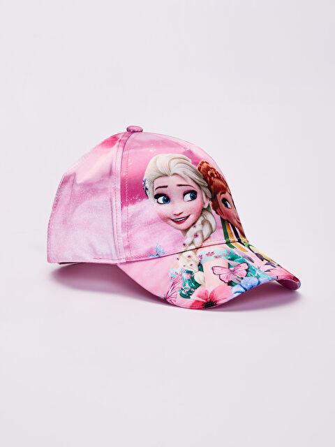 Kız Çocuk Frozen Baskılı Şapka - LC WAIKIKI