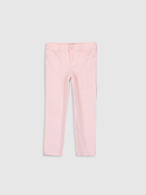 Kız Çocuk Skinny Gabardin Pantolon - LC WAIKIKI
