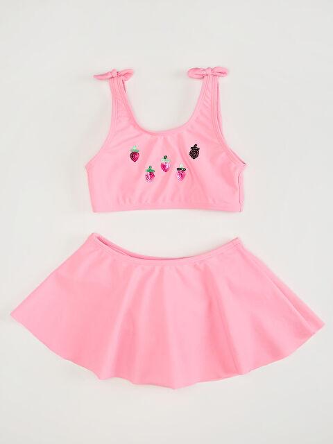 Kız Çocuk Etekli Bikini - LC WAIKIKI