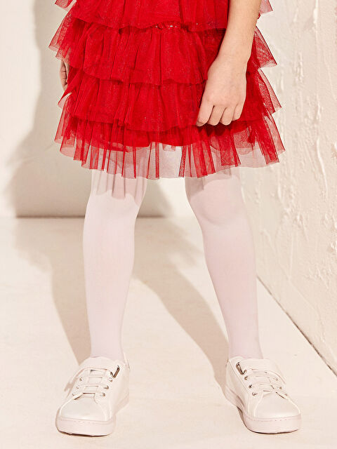 Kız Çocuk 31-38 Numara Cırt Cırtlı Günlük Ayakkabı - LC WAIKIKI