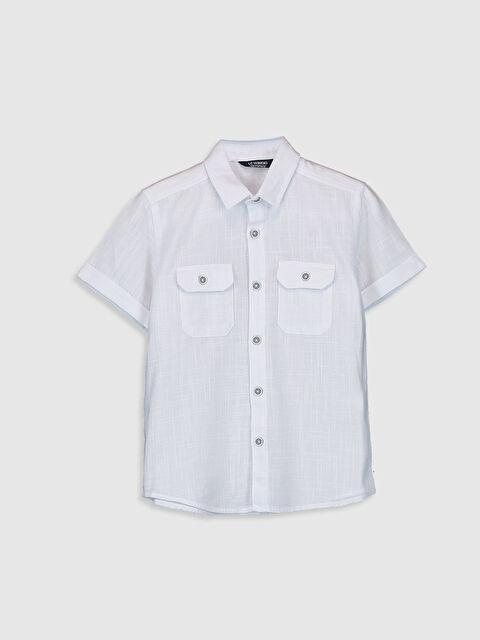Erkek Çocuk Oxford Gömlek - LC WAIKIKI