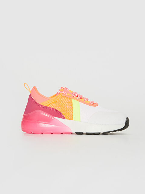 Kız Çocuk Kalın Taban Renk Bloklu Spor Ayakkabı - LC WAIKIKI