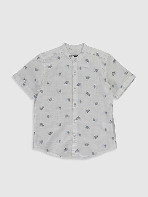 Erkek Çocuk Desenli Poplin Gömlek - LC WAIKIKI