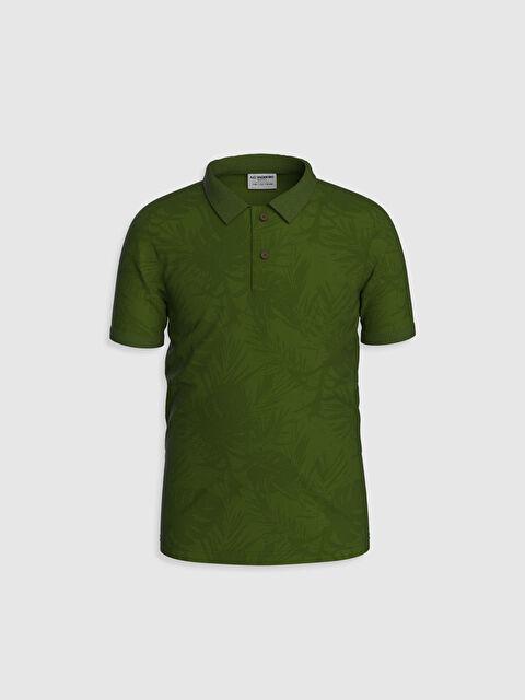 Erkek Çocuk Polo Yaka Baskılı Tişört - LC WAIKIKI