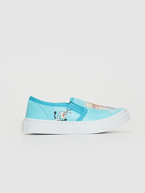 Kız Çocuk Frozen Lisanslı Ayakkabı - LC WAIKIKI