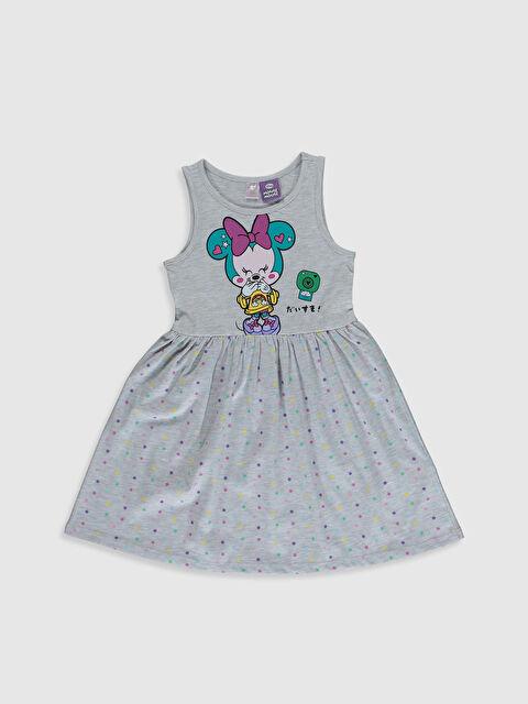 Kız Çocuk Minnie Mouse Baskılı Gecelik - LC WAIKIKI