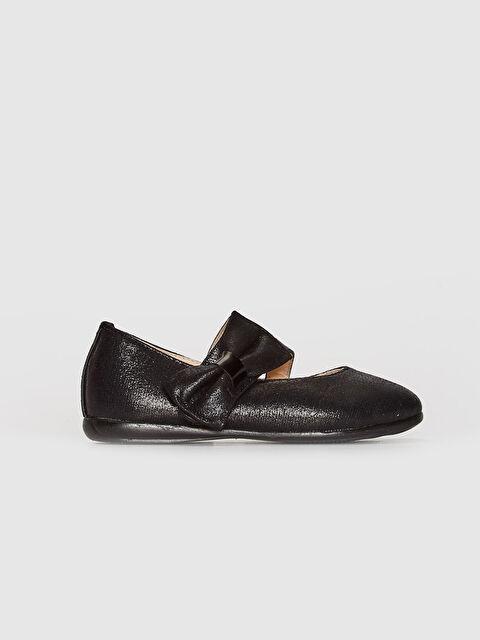 Kız Çocuk Fiyonk Detaylı Babet Ayakkabı - LC WAIKIKI