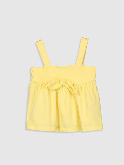 Kız Çocuk Fiyonk Detaylı Pamuklu Bluz - LC WAIKIKI