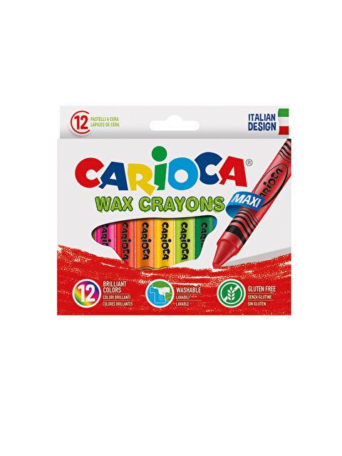 CARİOCA Wax Maxı Yıkanabilir Pastel Boya Kalemi 12'Li - Markalar