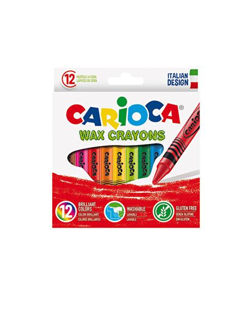 CARİOCA Wax Yıkanabilir Pastel Boya Kalemi 12'Li - Markalar