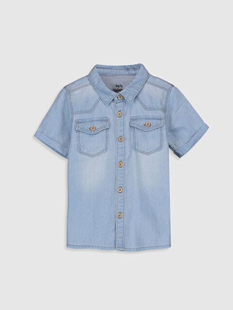 Джинсовая футболка - LC WAIKIKI