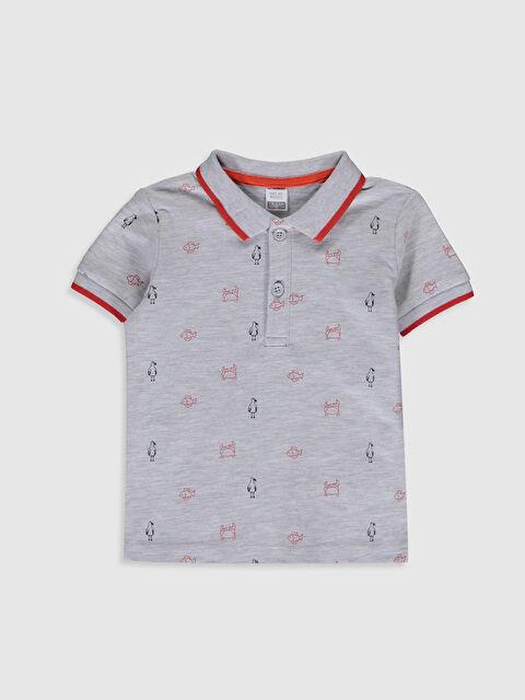 Erkek Bebek Baskılı Tişört - LC WAIKIKI