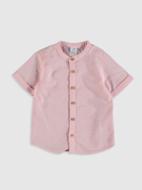 Erkek Bebek Gömlek Poplin Gömlek - LC WAIKIKI