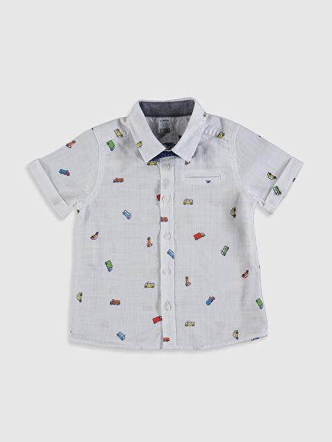 Erkek Bebek Baskılı Gömlek ve Papyon - LC WAIKIKI