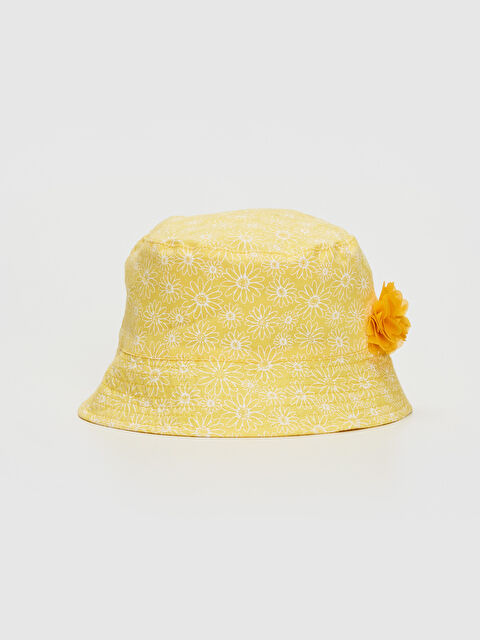 Kız Bebek Desenli Kova Şapka - LC WAIKIKI