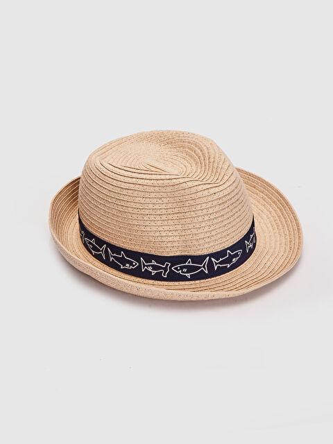 Erkek Bebek Hasır Şapka - LC WAIKIKI