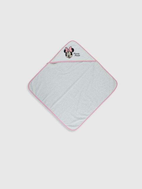 Kız Bebek Minnie Mouse Baskılı Havlu - LC WAIKIKI