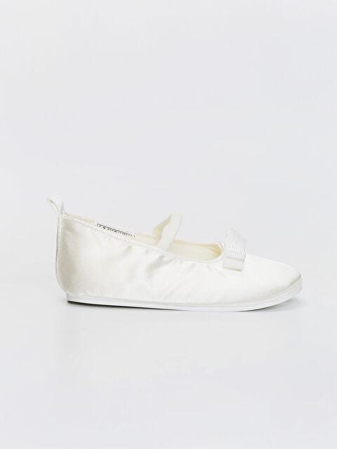 Kız Bebek Fiyonk Detaylı Yürüme Öncesi Babet Ayakkabı - LC WAIKIKI
