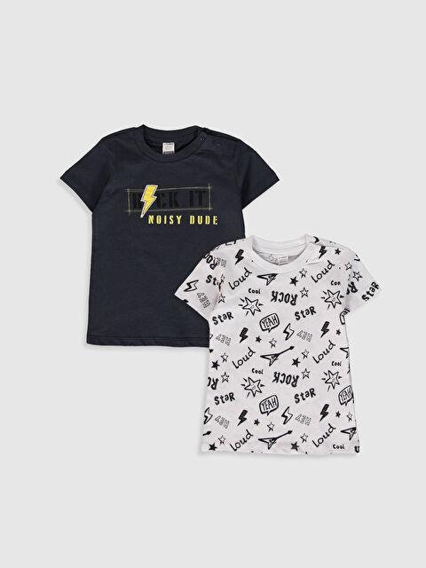 Erkek Bebek Baskılı Tişört 2'li - LC WAIKIKI