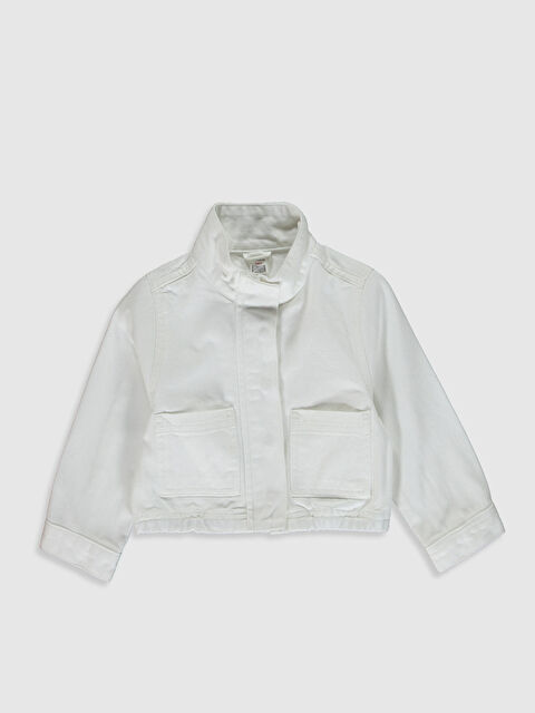 Kız Bebek Gabardin Ceket - LC WAIKIKI