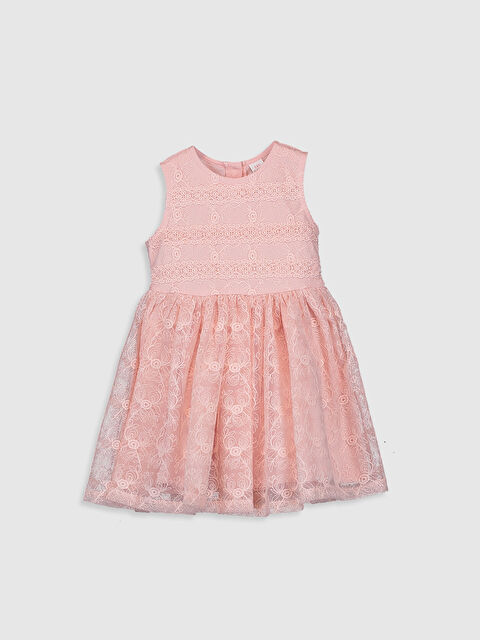Kız Bebek Dantel Elbise - LC WAIKIKI