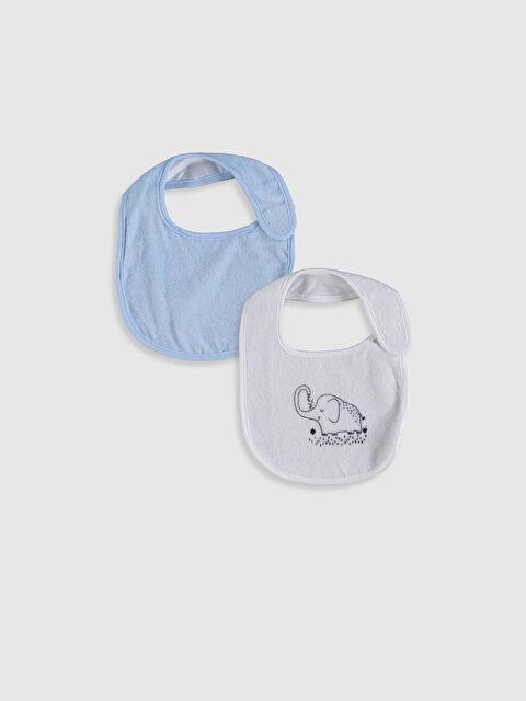 Erkek Bebek Mama Önlüğü 2'li - LC WAIKIKI