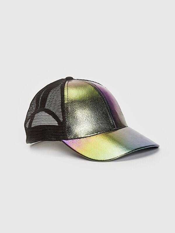 Kız Çocuk Hologram Detay File Şapka - LC WAIKIKI