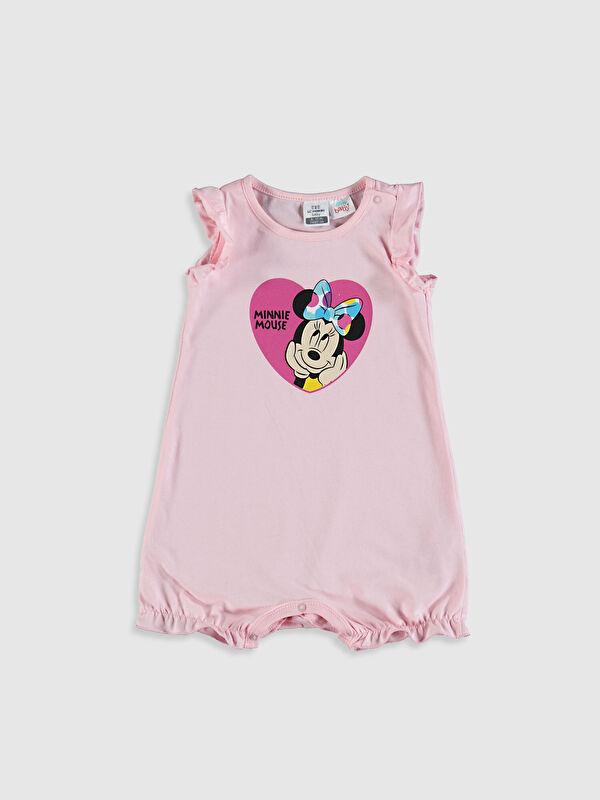 Kız Bebek Minnie Mouse Baskılı Tulum - LC WAIKIKI