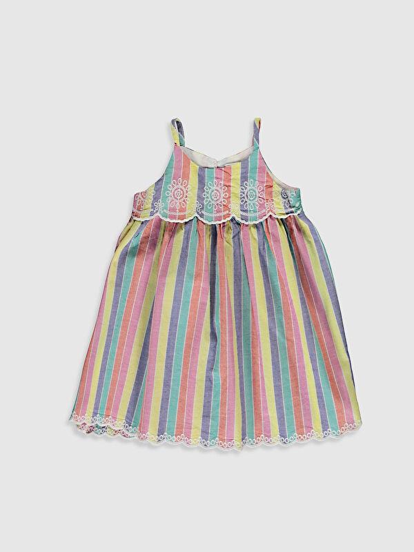 Kız Bebek Çizgili Elbise - LC WAIKIKI