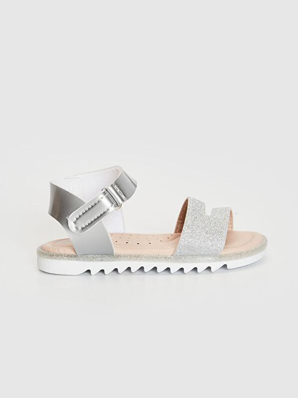Kız Bebek Sim Detaylı Cırt Cırtlı Sandalet - LC WAIKIKI