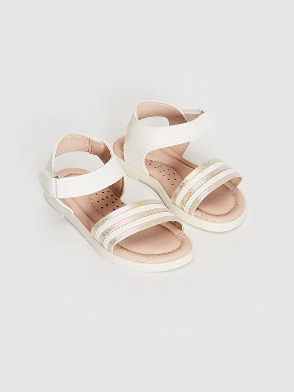 Kız Bebek Tek Bantlı Sandalet - LC WAIKIKI