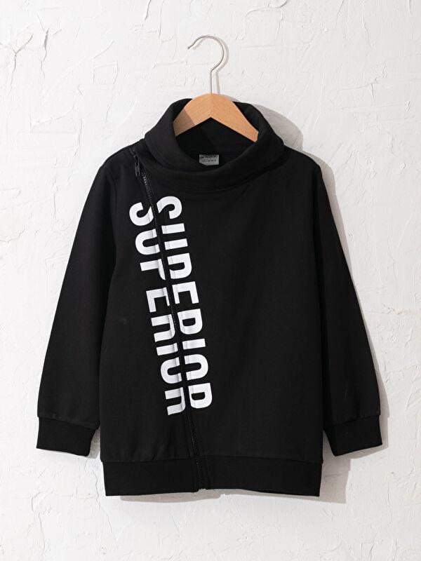 Erkek Çocuk Fermuarlı Sweatshirt - LC WAIKIKI
