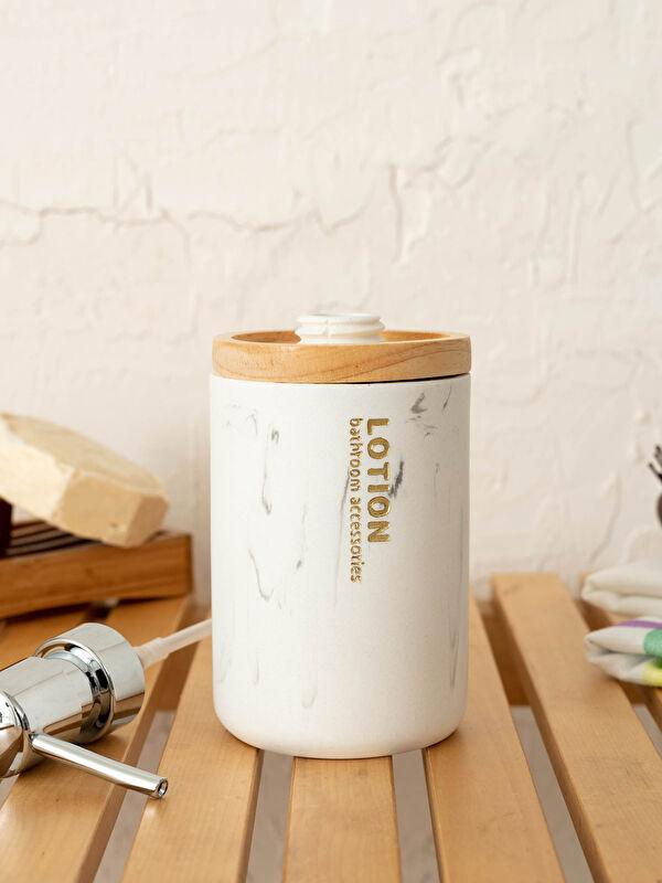Porselen Sıvı Sabunluk 7x17 Cm - LCW HOME