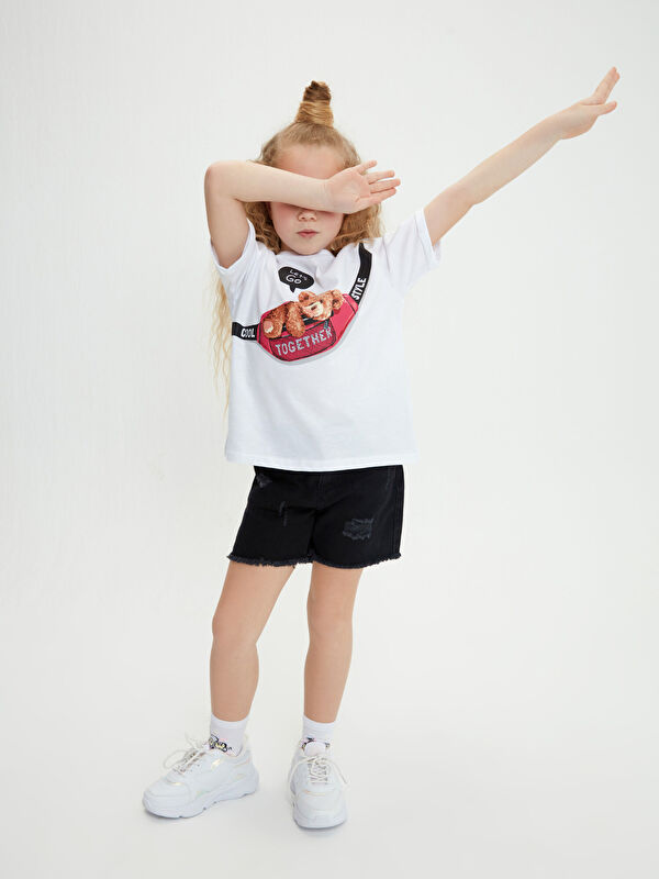 Kız Çocuk Jean Şort - LC WAIKIKI