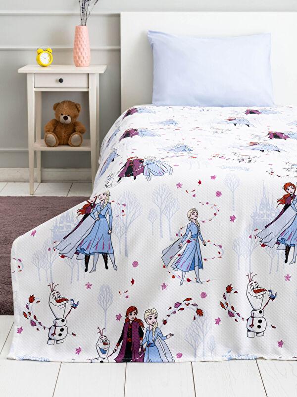 Frozen Lisanslı Kız Çocuk Pike - LCW HOME
