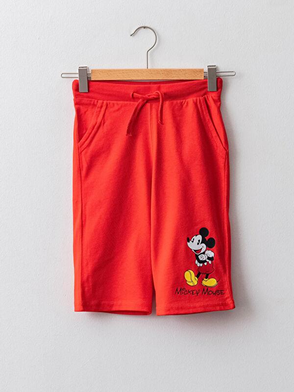 Beli Lastikli Mickey Mouse Baskılı Erkek Çocuk Roller - LC WAIKIKI
