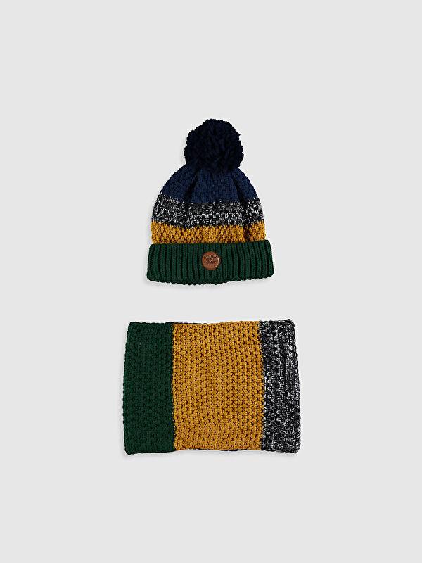 Набор шарф, берет и перчатки - LC WAIKIKI