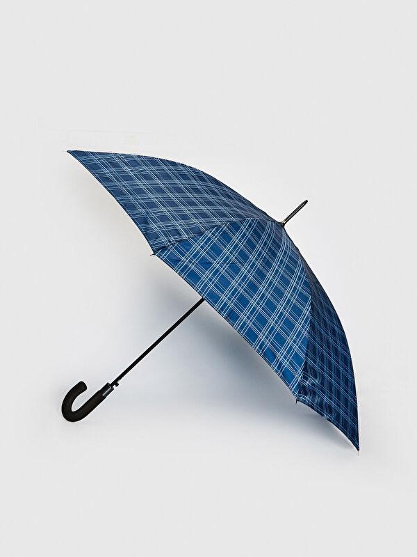 Erkek Kare Desenli Şemsiye - LC WAIKIKI