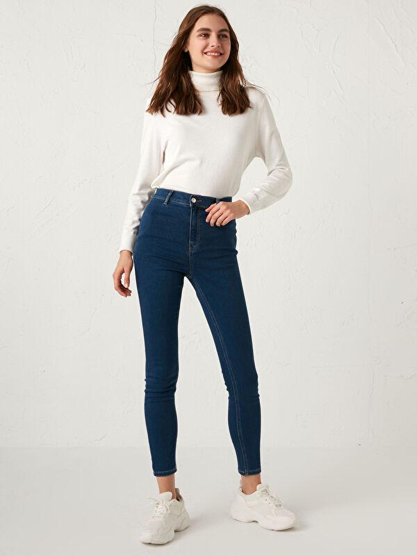 Super Skinny Polar Jean Pantolon - LC WAIKIKI