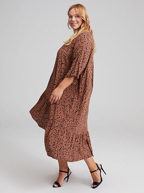 Salaş Desenli Elbise - LC WAIKIKI