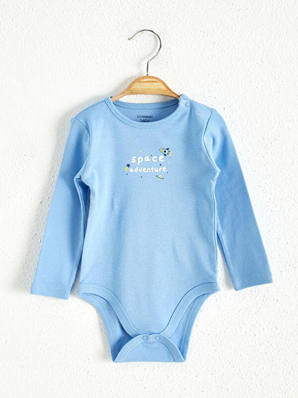 Erkek Bebek Çıt Çıtlı Body - LC WAIKIKI