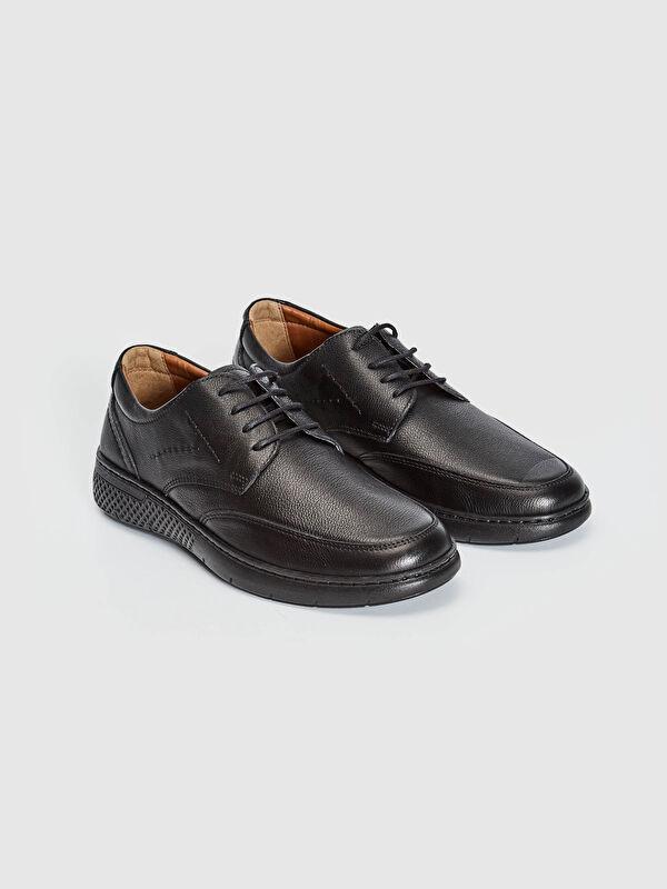 Erkek Deri Bağcıklı Ayakkabı - LC WAIKIKI
