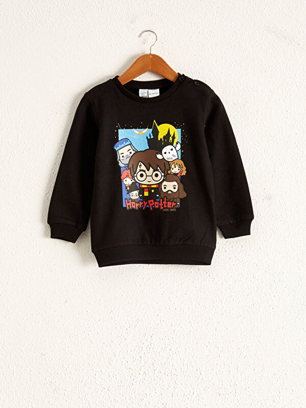 Erkek Bebek Harry Potter Baskılı Sweatshirt - LC WAIKIKI
