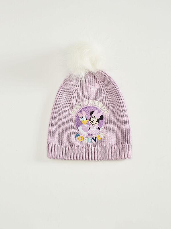 Kız Çocuk Minnie Mouse Lisanslı Triko Bere - LC WAIKIKI
