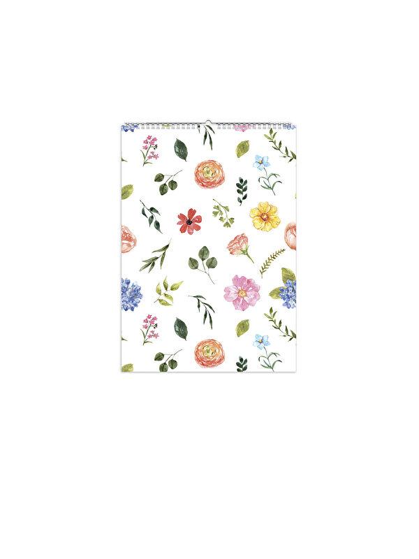 Fabooks Bahar Çiçekleri Süresiz Duvar Takvimi - Markalar
