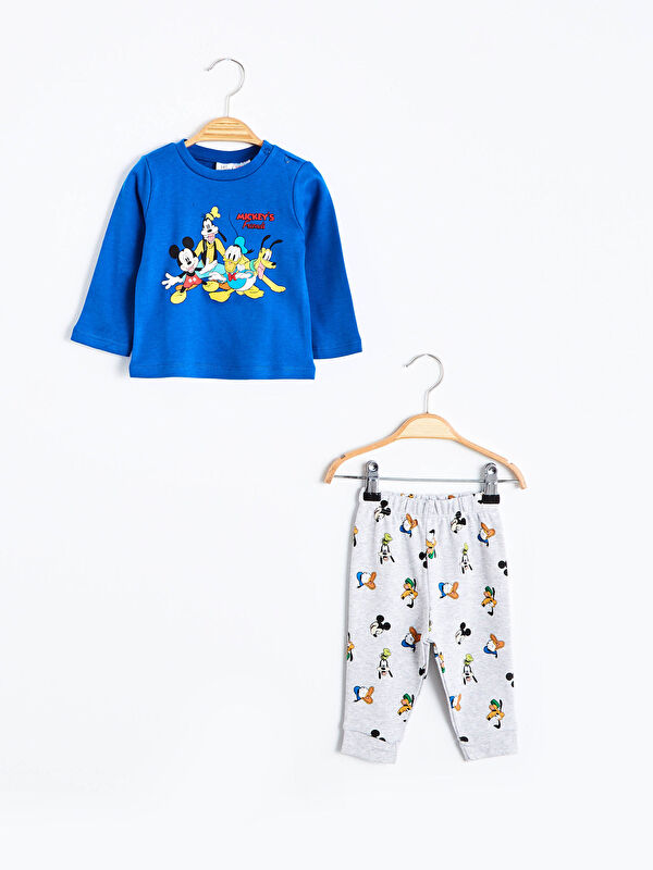 Erkek Bebek Disney Baskılı Pijama Takımı - LC WAIKIKI