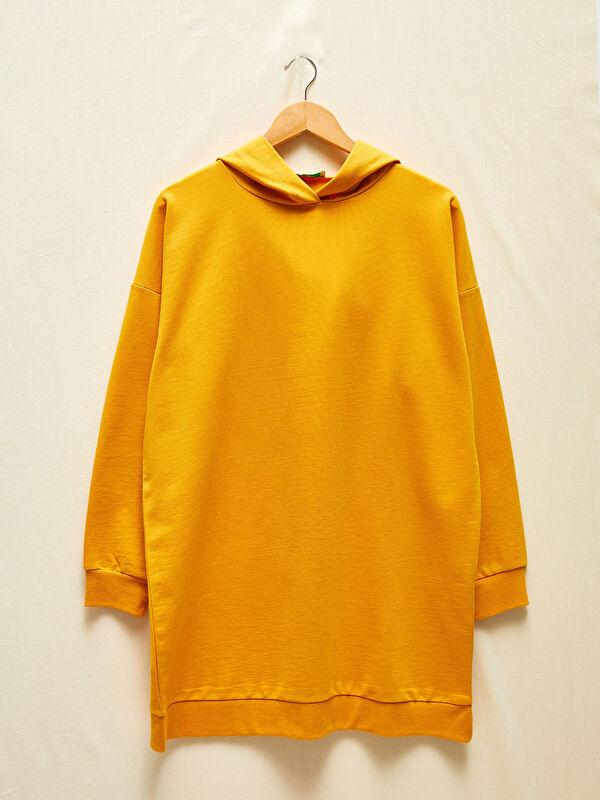 LCW GREEN Kapüşonlu Oversize Sweatshirt - LC WAIKIKI